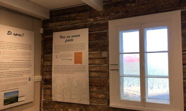 Vernissage de l'exposition temporaire de la Maison de la Nouvelle-Acadie Faire un tabac : journal d'une culture partie en fumée