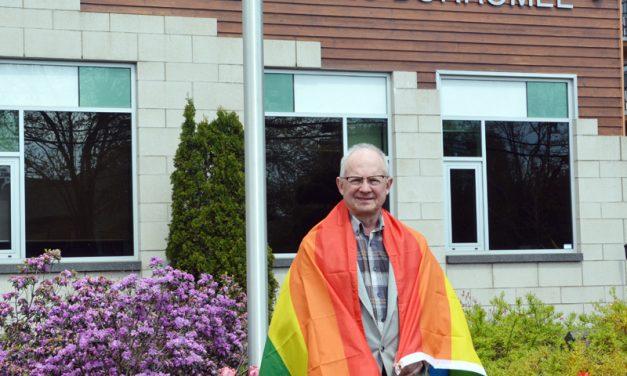 La Ville de Saint-Charles-Borromée, alliée dans la lutte contre  l'homophobie, affiche ses couleurs!