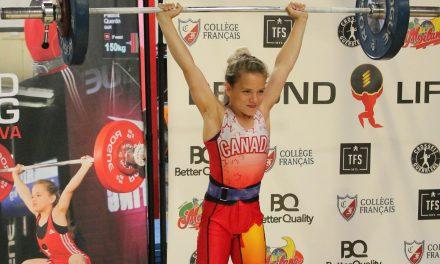 Haltérophilie : Emily Ibanez se qualifie au championnat canadien