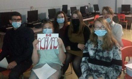 Des élèves de deuxième secondaire réfléchissent à la liberté d'expression