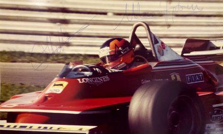 Pas de Grand-Prix ce week-end mais… Autographes de Gilles Villeneuve et de Ayrton Senna à l'encan!