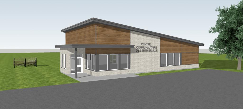 Plus de 711 000 $ pour un centre communautaire à Berthierville