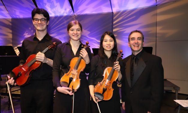 Lancement du concours des violons de la Fondation Rolland-Brunelle