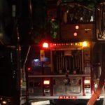 Incendie suspect d'une pizzeria à Saint-Félix-de-Valois
