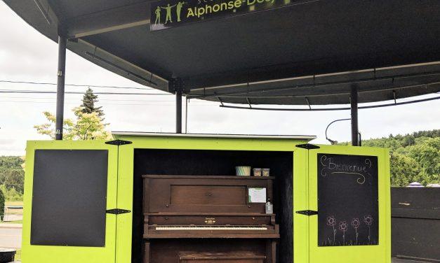 La Municipalité de Saint-Alphonse-Rodriguez fait l'acquisition d'un piano public