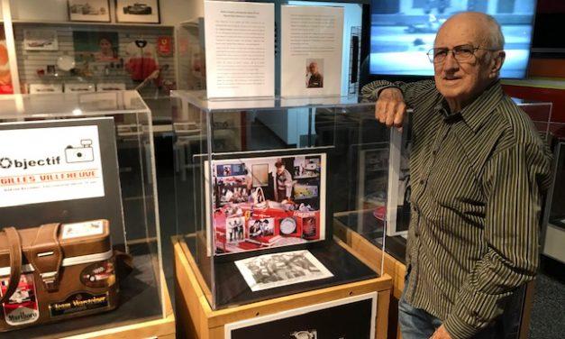 Gaétan Savignac, photographe depuis 70 ans! Objectif Gilles Villeneuve, l'exposition…