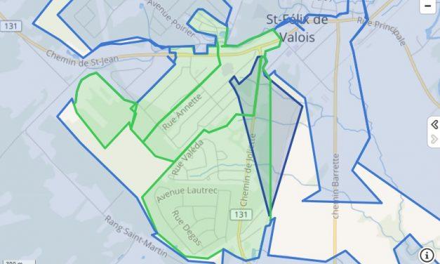 De nouveaux secteurs branchés à Saint-Félix-de-Valois