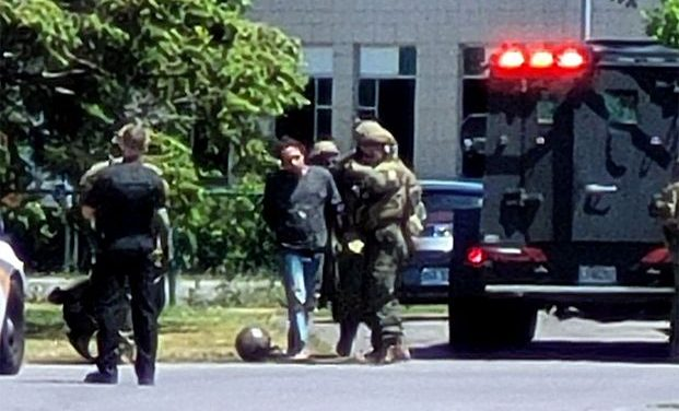 Arrestation à haut risque à Saint-Charles-Borromée