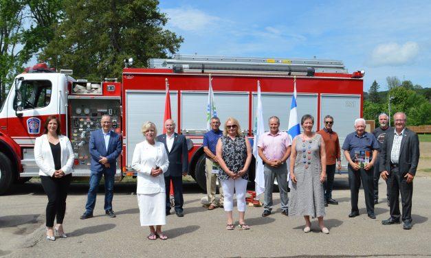 Un service de sécurité incendie unifié pour la MRC de D'Autray