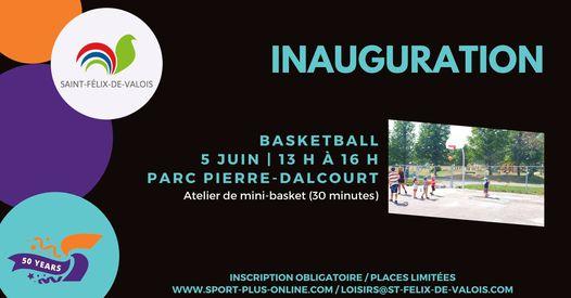 Saint-Félix-de-Valois inaugure trois plateaux sportifs en juin!