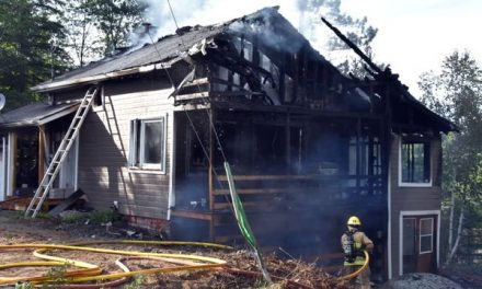 Chertsey : une résidence lourdement endommagée par un incendie