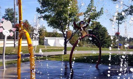 Fermeture des jeux d'eau à Saint-Calixte