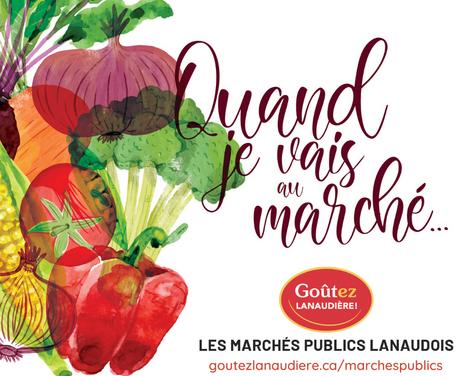 Les marchés publics lanaudois sont de retour