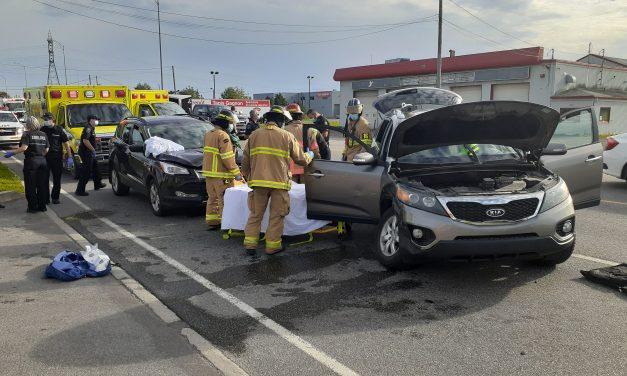 Trois blessés à Notre-Dames-des-Prairies