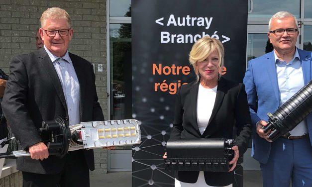 Une somme de 18,9 M$ octroyée aux MRC de D'Autray et de Matawinie pour poursuivre le déploiement des services Internet haute vitesse