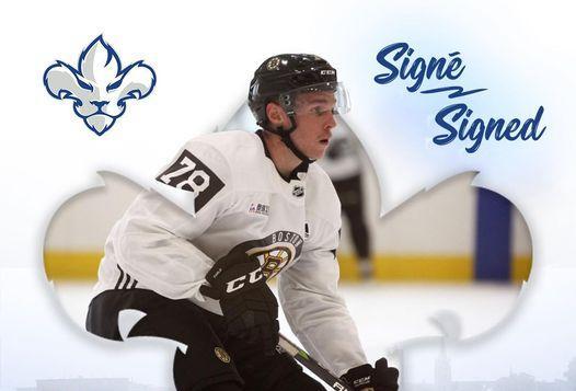 Olivier Galipeau signe avec les Lions de Trois-Rivières