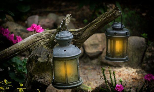 Visite à la lanterne dans les jardins de la Maison Antoine-Lacombe