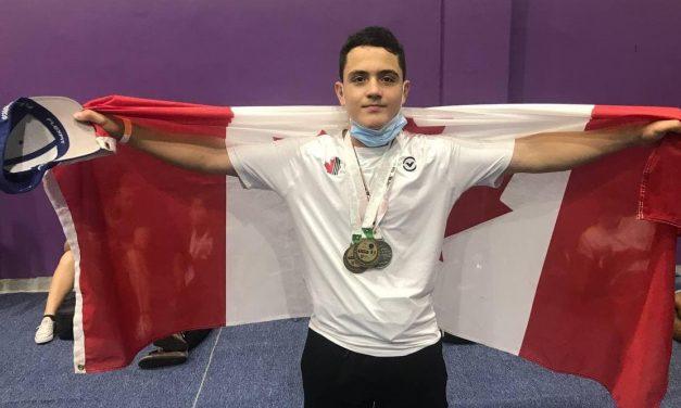 Brayan Ibanez brille aux championnats Panaméricains d'haltérophilie