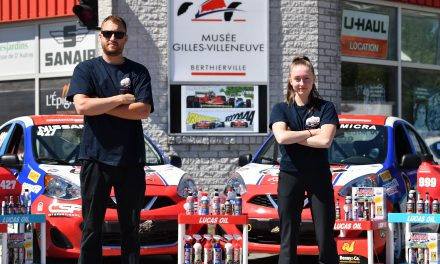 L'équipe de course du musée Gilles-Villeneuve reçoit le monde de Benjamin en partenariat avec Benny&Co au complex ICAR à Mirabel