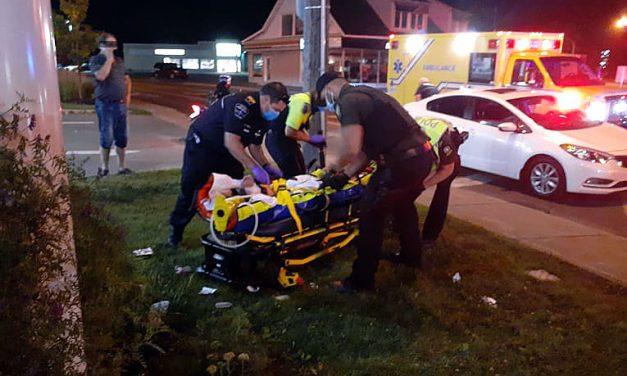 Joliette : une collision impliquant un scooter fait un blessé