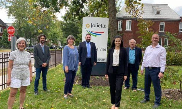 Les candidats et candidates de l'équipe Vision Joliette officiellement dans la course  pour l'élection de novembre prochain