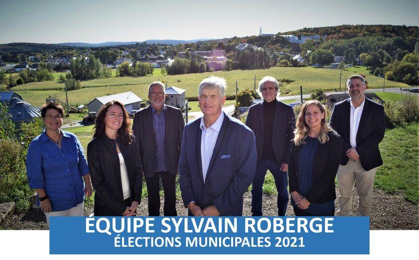 Mairie de Saint-Jean-de-Matha : Sylvain Roberge présente son équipe