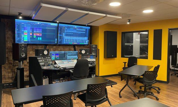 Rénovation complète du studio de musique au Cégep à Joliette