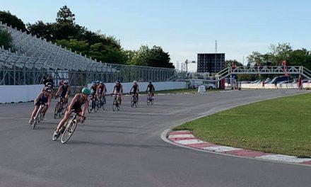 Première victoire en Coupe du Québec Triathlon pour Léo Savoie et Charlotte Fournier en U15