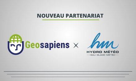 Nouveau partenariat  Geosapiens et Hydro Météo s'associent pour offrir une solution clé en main pour la gestion des inondations