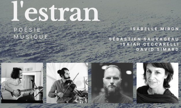 L'Estran : poésie et musique