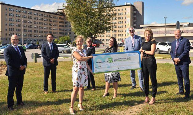 Les six caisses Desjardins du nord de Lanaudière versent un généreux don de 50 000 $ à la Fondation pour la Santé du Nord de Lanaudière