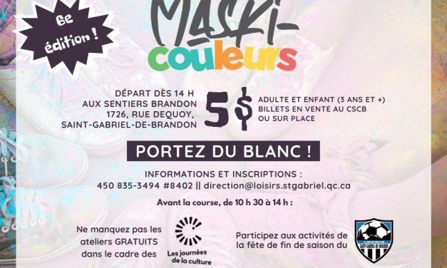 Le sport et la culture à l'honneur le 25 septembre prochain à Saint-Gabriel-de-Brandon