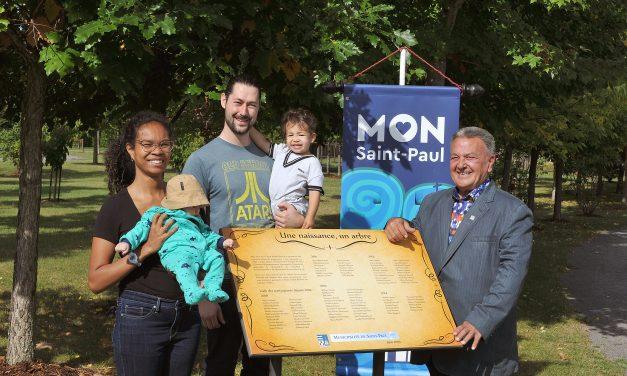 La municipalité de Saint-Paul souligne les nouveau-nés 2019 et 2020