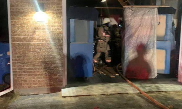 Incendie de garage résidentiel à Saint-Jean-de-Matha
