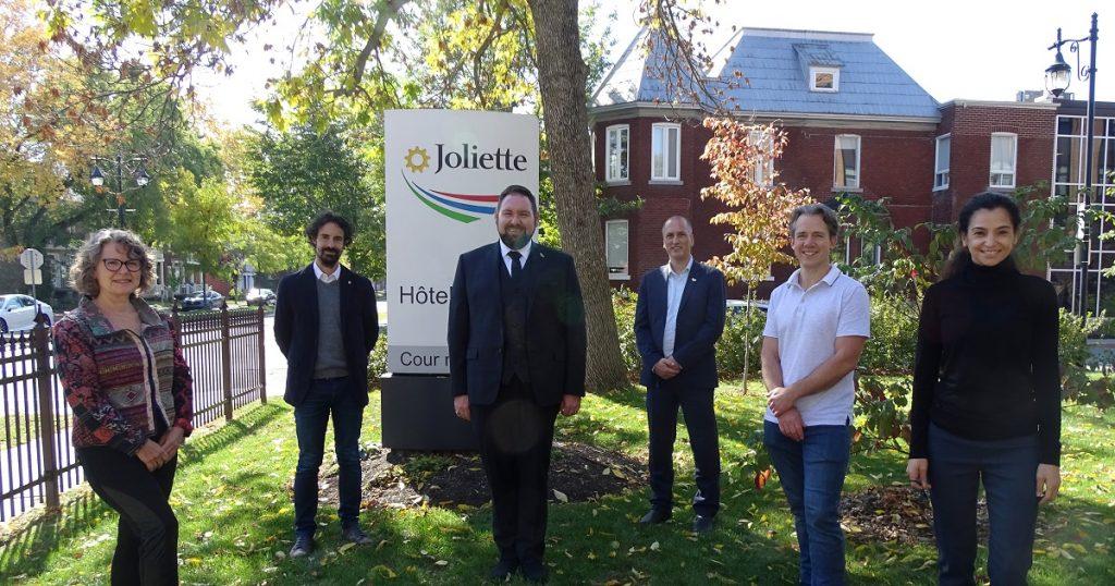 Assermentation du nouveau maire de Joliette, Pierre-Luc Bellerose, et de 5 conseillers municipaux