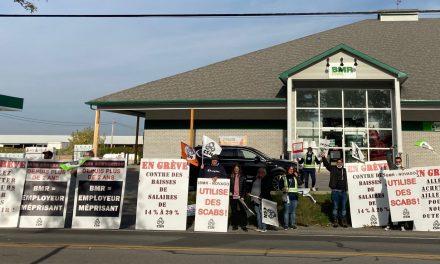 Les travailleuses et travailleurs syndiqués de BMR-Novago de Joliette et Saint-Jacques votent un mandat de grève générale illimitée