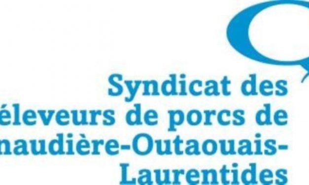 Les Éleveurs de porcs de Lanaudière-Outaouais- Laurentides donnent aux organismes Moisson